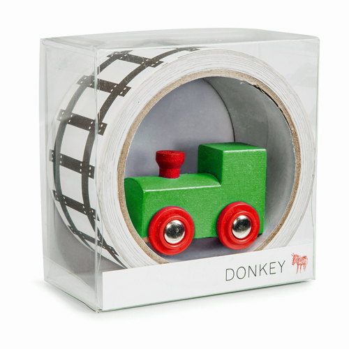 Donkey Products Tape treinbaan