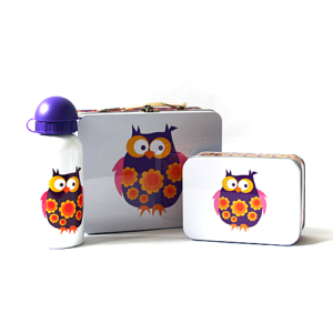 Blafre Lunchset Uil luxe