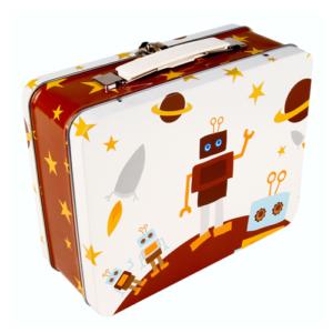 Blafre koffertje Robot
