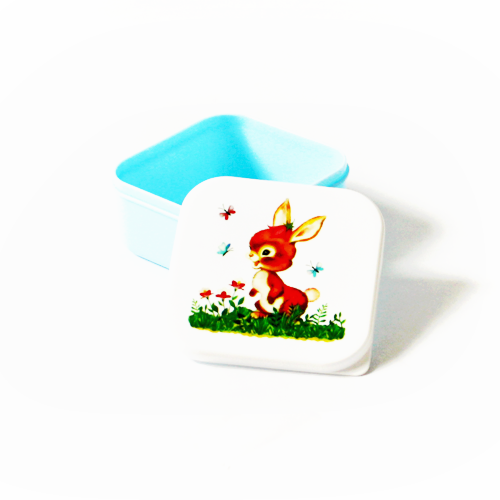 Sass & Belle Lunchset Woodlandfriends Konijn blauw