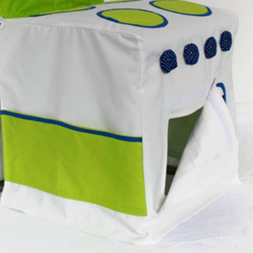 Keuken Fusion wit & groen